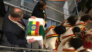 Igihugu ca Ethiopia ntikiramenyesha aho kizobika ivyo bitsibo vy'iyo mishatsi