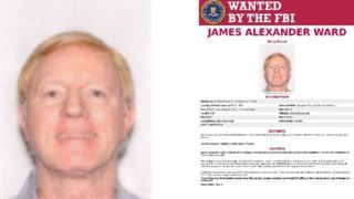 FBI poster of James Alexander Ward