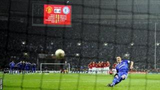 Chelsea walishindwa na Manchester United fainali ya Ligi ya Mabingwa Ulaya 2008 wakipiga penalti wakiwa wa pili