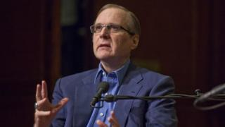 Paul Allen speaks at a New York event in 2011