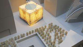 Design for Ronald O Perelman Performing Arts Center