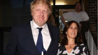 Boris Johnson ve Marina Wheeler
