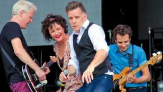 Deacon Blue at T in the Park in 2013