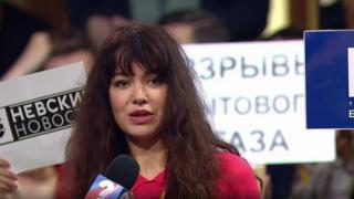 أليسا ياروفيسكايا أخذت المايكروفون بدلا من زميل آخر