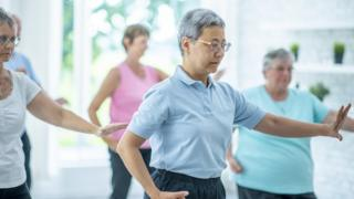 Women who make Tai Chi