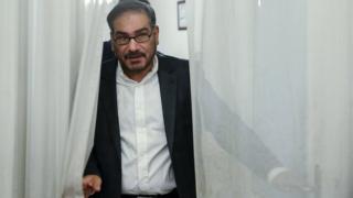 علی شمخانی، دبیر شورای عالی امنیت ملی