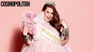 Tess Holliday in Cosmopolitan