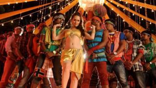 Кадр из индийского фильма