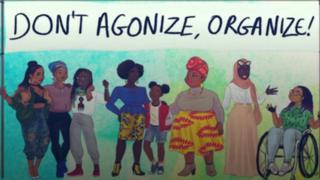 صورة كاريكاتورية لمهرجان نيانسابو للنساء في فرنسا