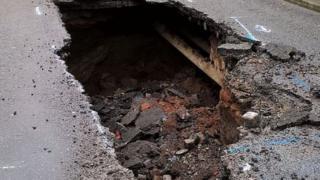 Edge Lane hole