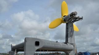 DeltaStream tidal energy generator