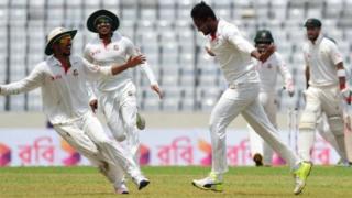 बांग्लादेश की ऐतिहासिक जीत के हीरो रहे शाकिब अल हसन