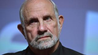 US director and producer Brian De Palma at the 72nd Venice International Film Festival, 9 September 2015