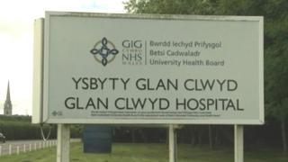 Glan Clwyd Hospital in Bodelwyddan