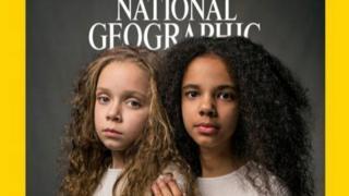 Marcia e Millie Biggs na capa da National Geographic