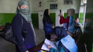 Afghan voters