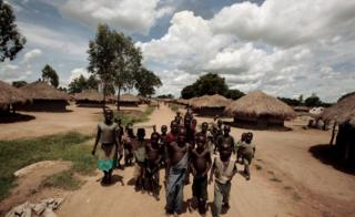 Деревня в Африке