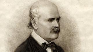 Portrait of Ignaz Semmelweis