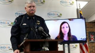 Meridian Township police chief apologises to Brianne Randall-Gay on videoconference