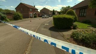 Scene of stabbing in Kirkby-in-Ashfield