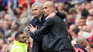Pep Guardiola ayay guushu ku raacday ciyaartii tobankii bishii sagaalaad ka dhacday garoonka Old Trafford