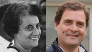 इंदिरा गांधी, राहुल गांधी