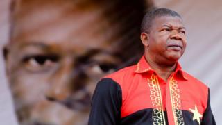 Joao Lourenco, the candidate of the Popular Movement for the Liberation of Angola (MPLA) reacts during his elections campaign rally in Lobito, Angola, 17 August 2017