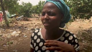 Gwoza market woman