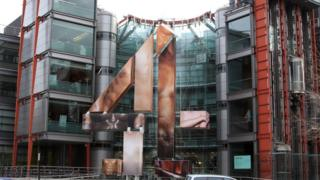 Channel 4 building in Horseferry Road