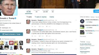 M. Trump a été accusé d'avoir été trop bavard avec le chef de la diplomatie russe.