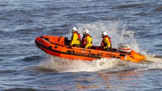 Redcar RNLI's IB1 class lifeboat Eileen May Loach-Thomas