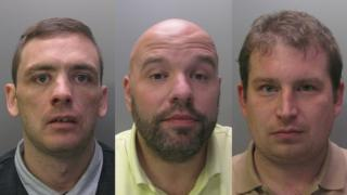 Paul Gaynor, Gaston Van Houwelingen and Jon Roe were jailed