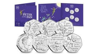Peter Pan coins