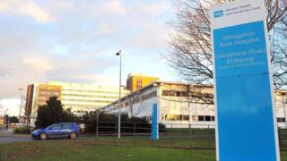 Altnagelvin Hospital in Londonderry