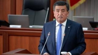 Президент Сооронбай Жээнбеков Ашхабадга Түркмөнстан президентинин чакыруусу менен барууда.