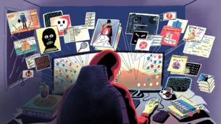 ilustración: hacker