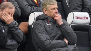 Arsene Wenger da daya daga cikin mataimakansa