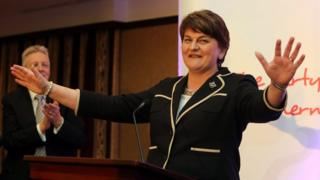 Arlene Foster becomes leader of DUP