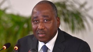 Le Premier ministre ivoirien, Amadou Gon Coulibaly