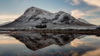 Lagangarbh Cottage at the Foot of Buachaille Etive Mor, Glencoe