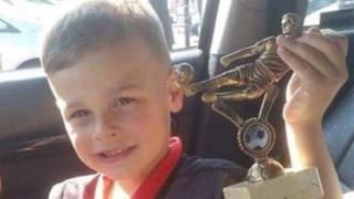 Joseph Smith, 5, killed in crash in Cardiff in September 2015