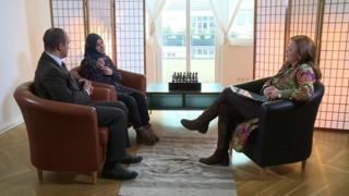 ِِAli El-Dbeissi and Nidaa Al-Safaa