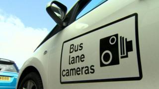 Bus lane camera car
