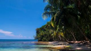 Playa en Costa Rica
