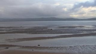 Shore of Lough Foyle