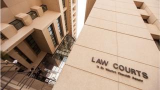 Law courts in Edmonton, Alberta