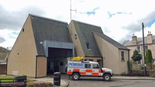 Melrose fire station