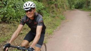 Cyclist pushed off bike in Birmingham by motorbike rider