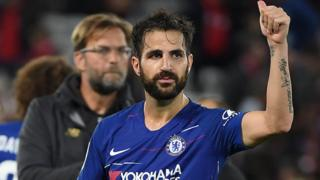 Fabregas na Chelsea