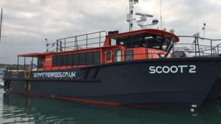 A Scoot ferry